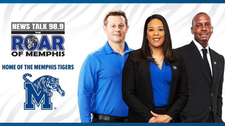 "Memphis Tigers Athletics has new radio home at News Talk 98.9 ""The Roar of Memphis"""