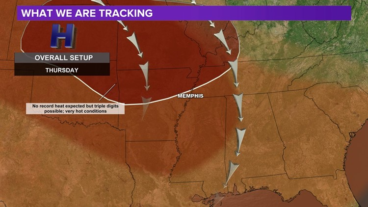 Hot High Pressure will keep conditions dangerous through Saturday
