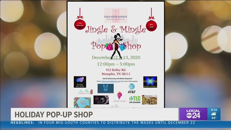 Support local businesses at this weekend's Jingle & Mingle