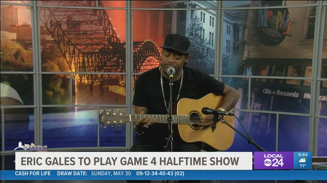 Memphian Eric Gales is ready to rock the anthem and halftime at the Grizzlies playoff game