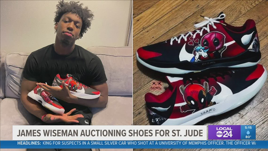 Former Tiger James Wiseman helping to raise money for St. Jude Children's Research Hospital