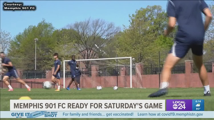 Memphis 901 FC ready for road matchup against the Indy Eleven