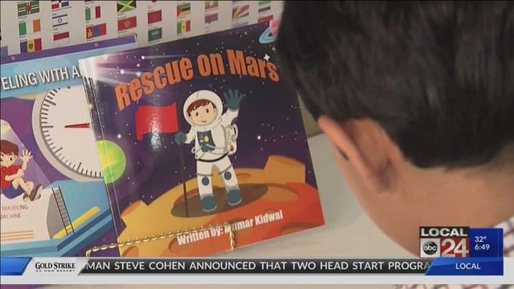 This Local Cool Kid is 9-years-old, in the 4th grade - and a celebrated published author