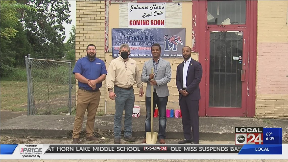Revitalization effort in Soulsville could transform old strip mall with café, coffee, and ice cream