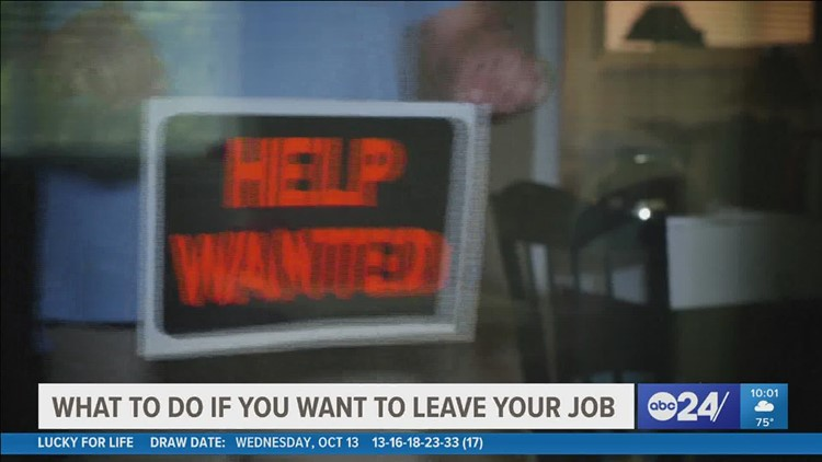 What should you do if you are considering quitting your job?