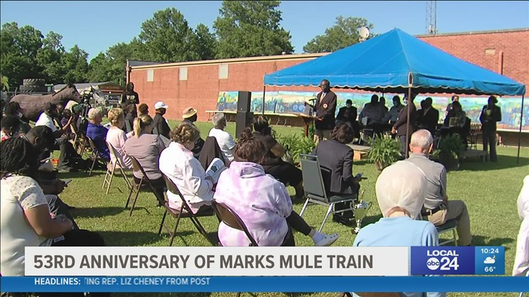 Local 24 News Anchor Katina Rankin & Photojournalist Nicki Storey honored for work on Mule Train documentary