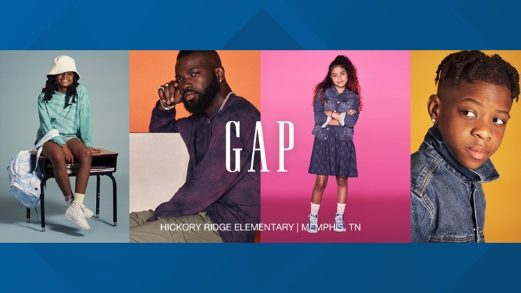 Gap Kids feature SCS students in Back to School campaign