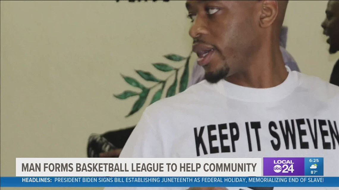 Memphis native brings community together with men's basketball league