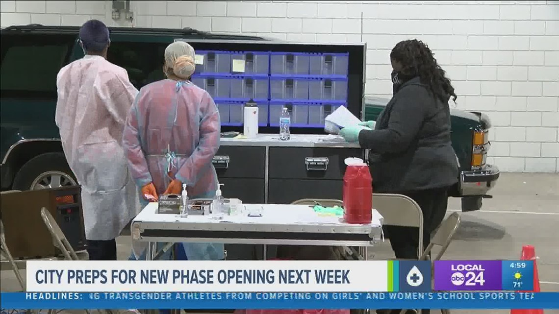 Shelby County COVID-19 vaccinations are ramping up ahead of new phase starting next week