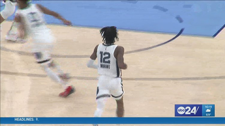 Looks like Ja Morant and the Grizzlies were just too hot for their season opener