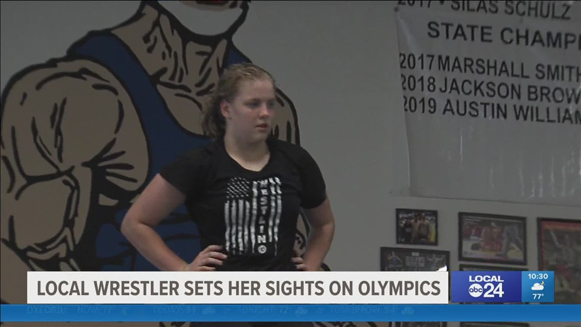 After taking silver in Pan-Am Games, Bartlett wrestler Maggie Graham has Olympic aspirations