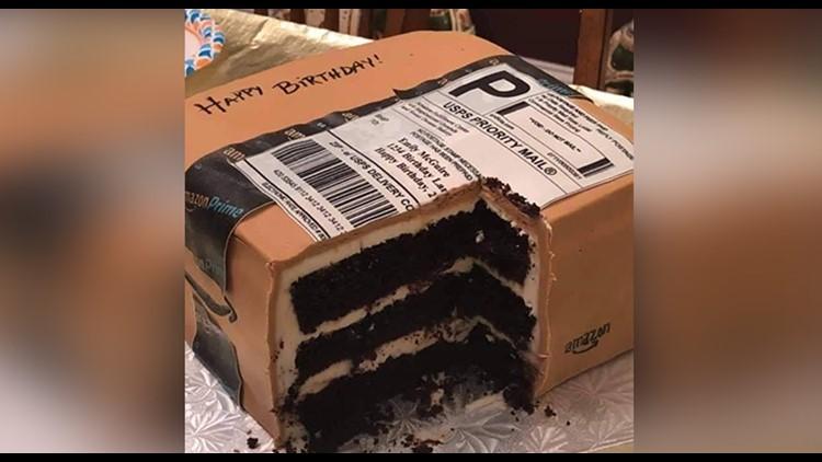 Fabulous North Carolina Husband Gives Wife Amazing Amazon Themed Cake For Funny Birthday Cards Online Alyptdamsfinfo