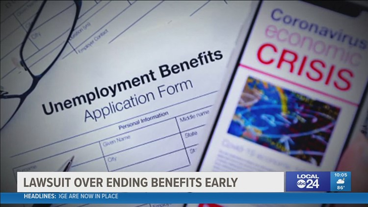 A lawsuit has been filed against Tennessee Governor Bill Lee for ending federal unemployment benefits