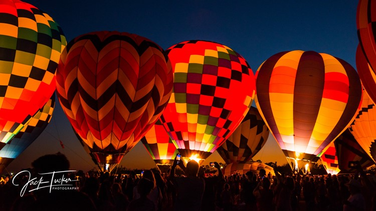 Fly high! The Bluff City Balloon Jamboree floats on this weekend
