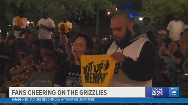 Grizzlies fans show up in full support in Game 5 against Utah