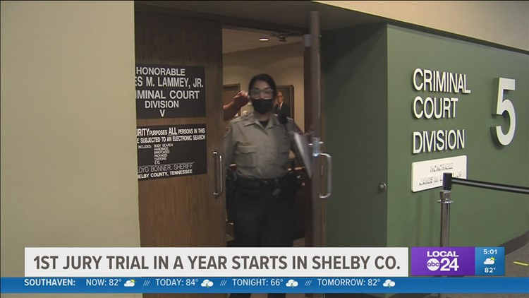 'Things are getting back to normal at 201 Poplar'; first Shelby County jury trial since March 2020 begins