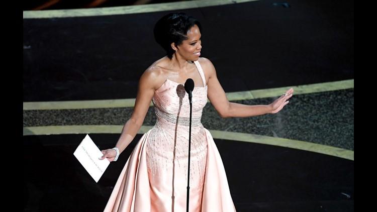 Regina King Wears Half A Million Dollars Worth Of Jewelry To The Oscars Localmemphis Com