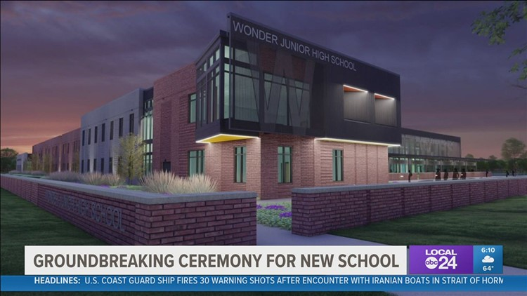 New junior high school being built in West Memphis