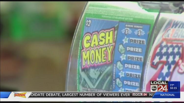 Lottery revenue soars in Arkansas, helps fund scholarships