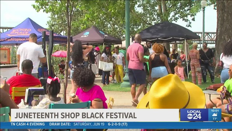 Juneteenth Shop Black Festival a success, Black community members say they 'deserved' it