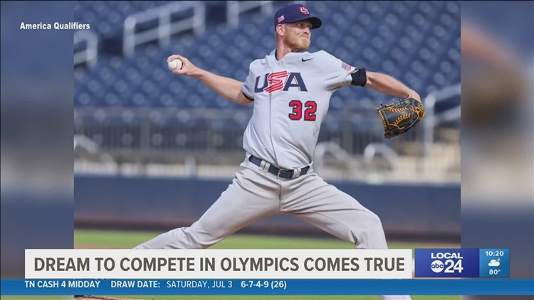 Memphis Redbirds pitcher joining Olympic team in Tokyo
