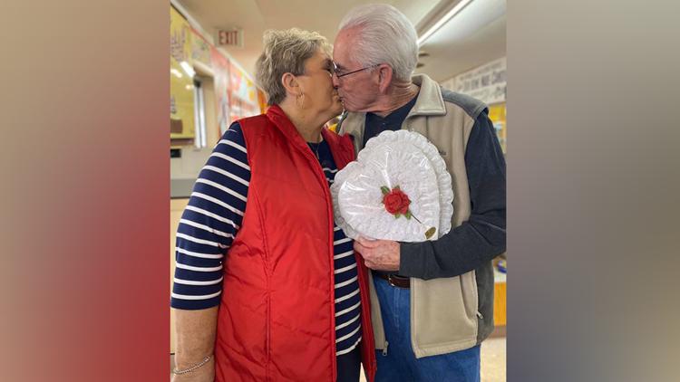 Arkansas couple refills same box of chocolate every Valentine's Day