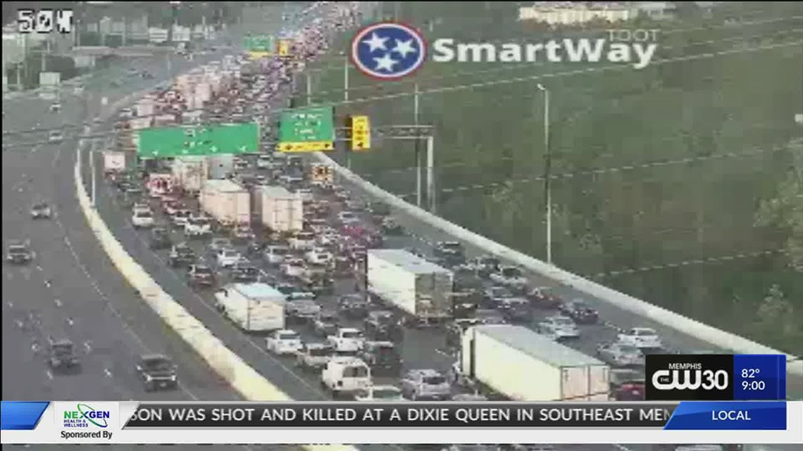 Shooting on I-40 Eastbound, no injuries were reported
