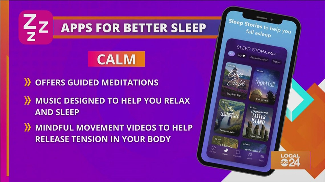 Get a good night's sleep using these four apps!