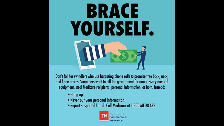 Tn Department Of Commerce Insurance Warns About Free Brace Scams