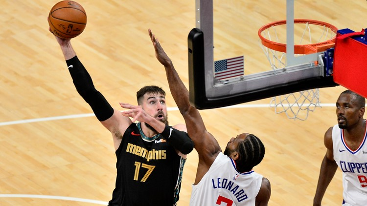 Clippers buzz the Grizzlies