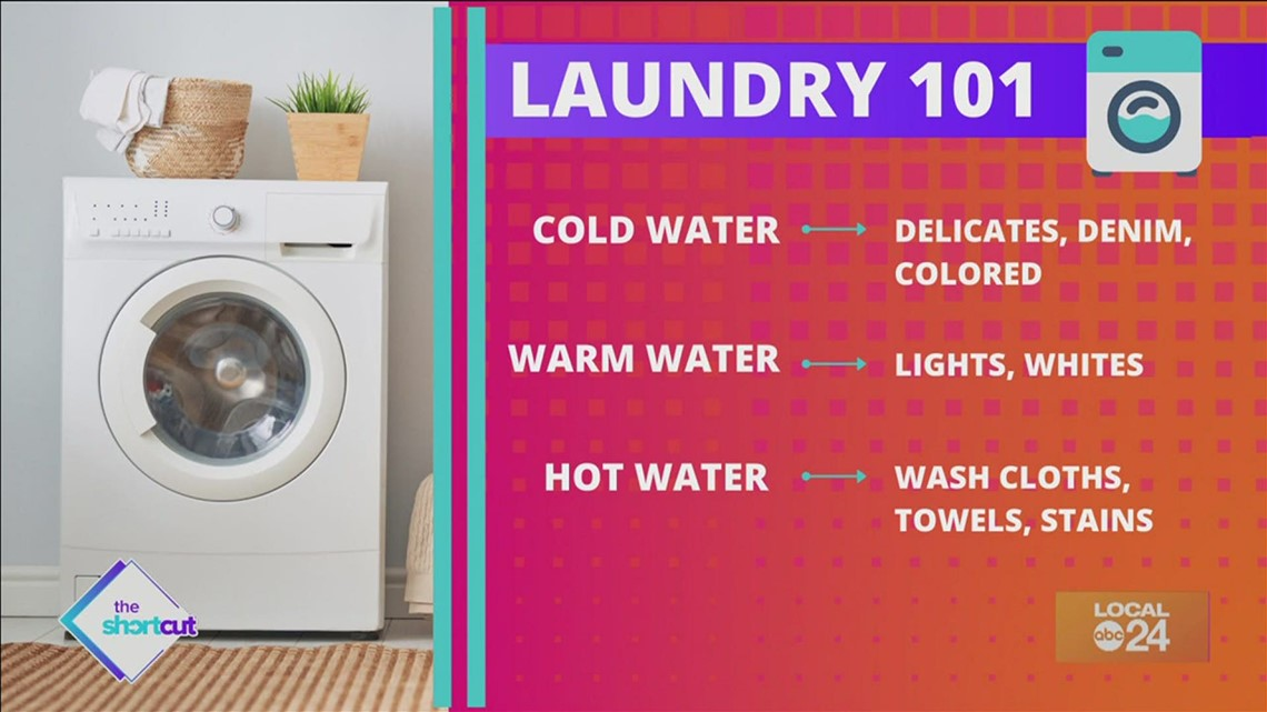 Laundry 101 tips and tricks