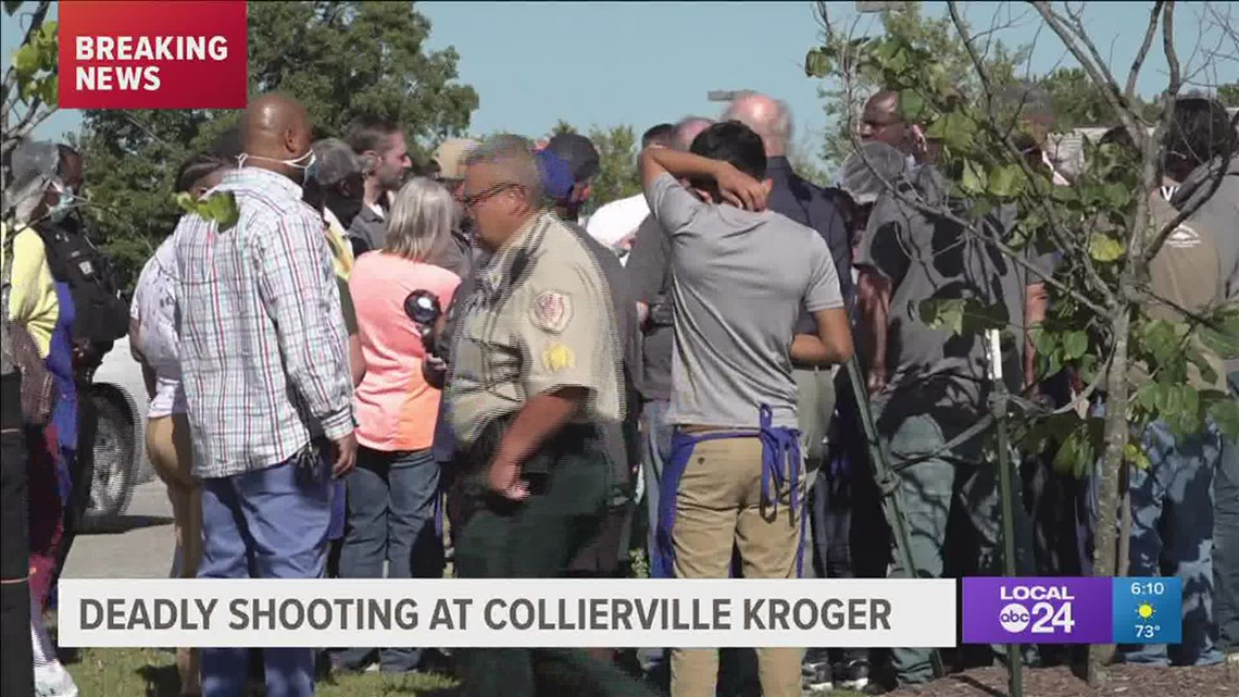 Kroger mass shooting eyewitness speaks 6 pm
