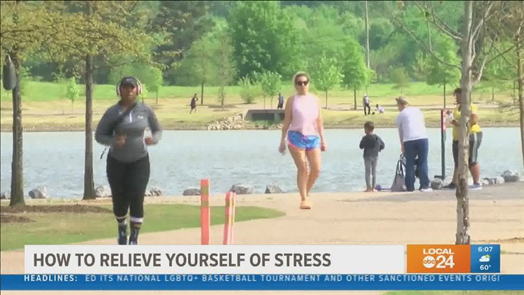 Feeling overwhelmed? Manage stress with easy exercises