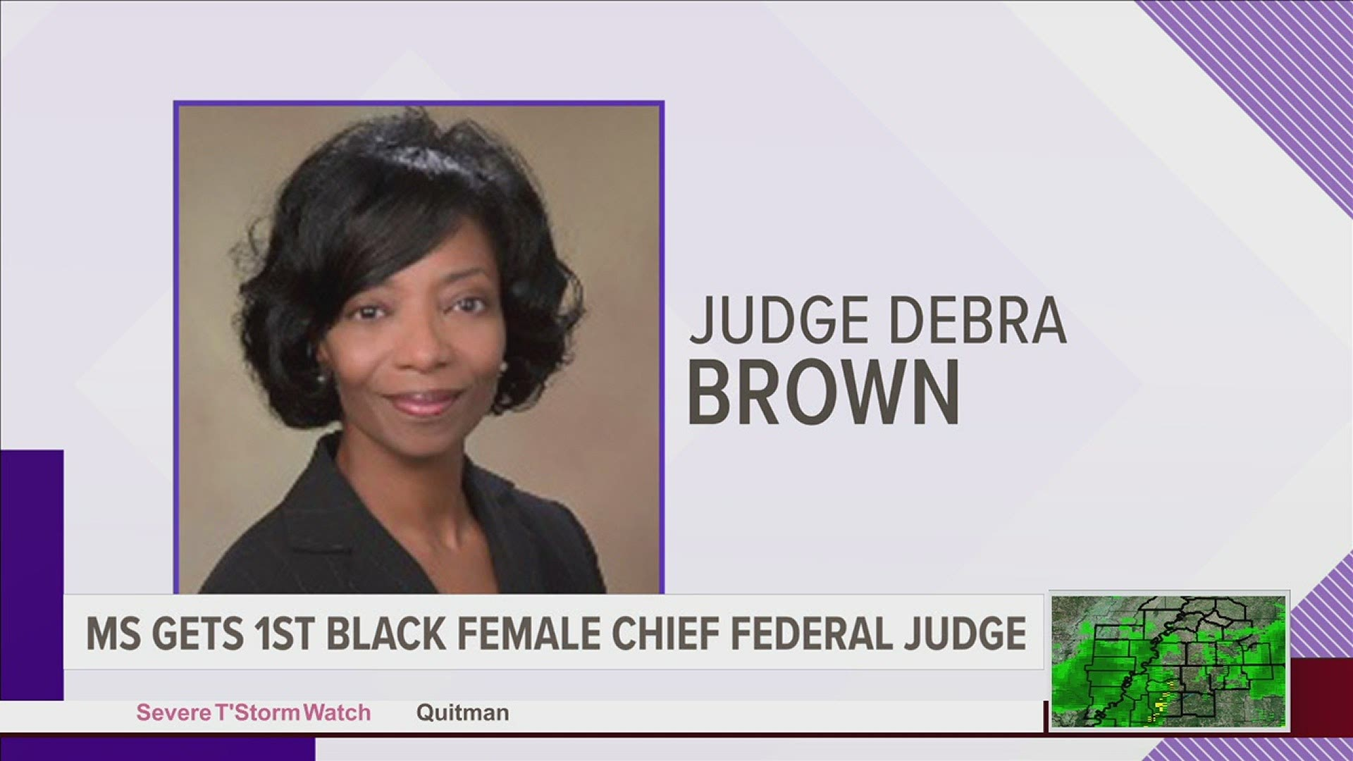 Debra Brown is Named First Black Female Chief Federal Judge in Mississippi