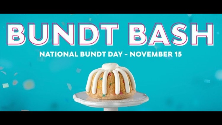Prime Nothing Bundt Cakes Set To Give Out Free Bundt Cakes On Nov 15 Funny Birthday Cards Online Alyptdamsfinfo