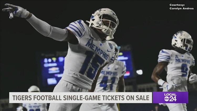 Tigers football single-game tickets now on sale