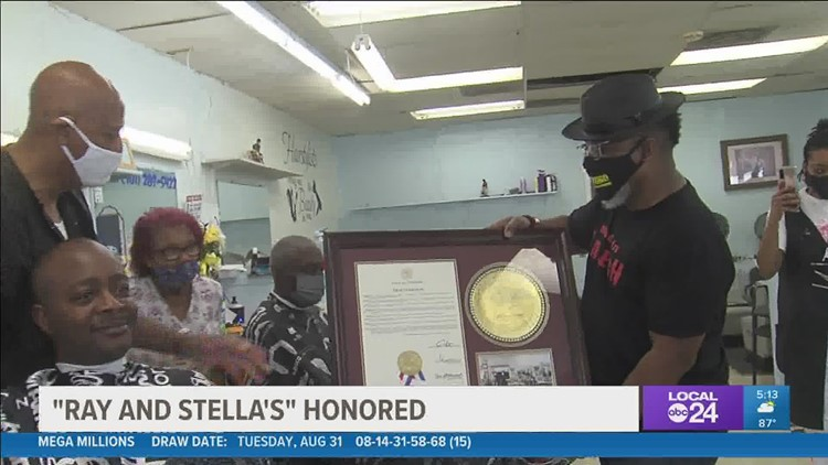 Raleigh barber shop owners honored for their service to the community