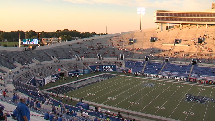 Where to park when headed to football games at the Liberty Bowl