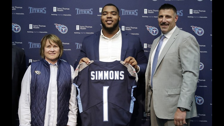 Titans owner Strunk vouches for 1st pick Jeffery Simmons