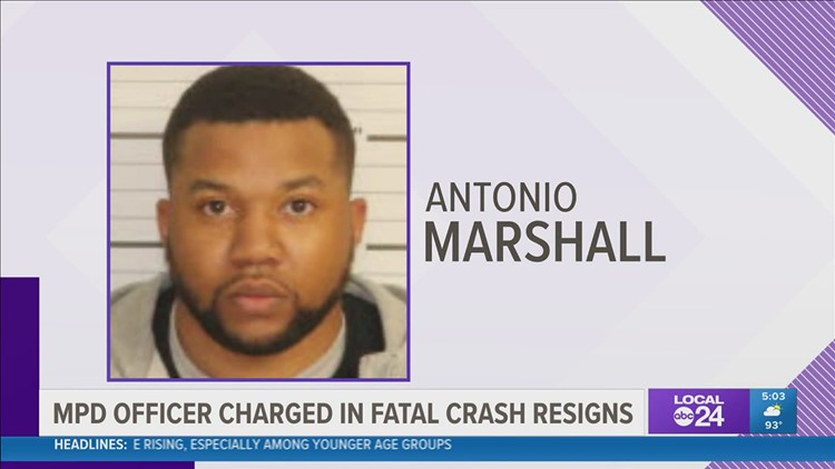 Off-duty Memphis Police officer charged in deadly crash resigns from force