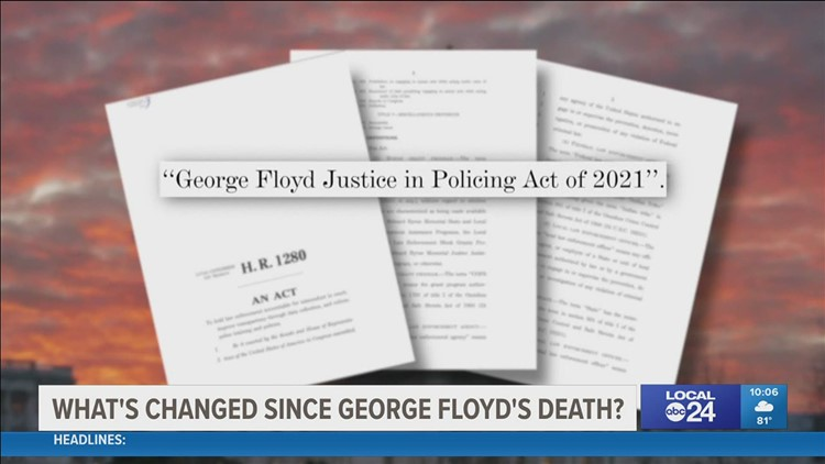 Local leaders reflect on progress in police reform on first commemoration of Floyd death