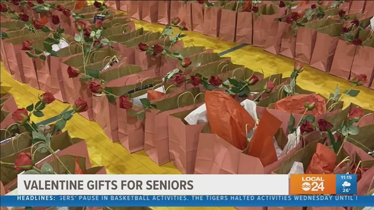 Valentine's gift bags to be delivered to north Memphis seniors