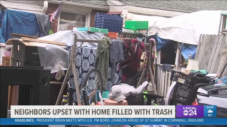 Berclair neighbors want what they say is a hoarder's home cleaned up