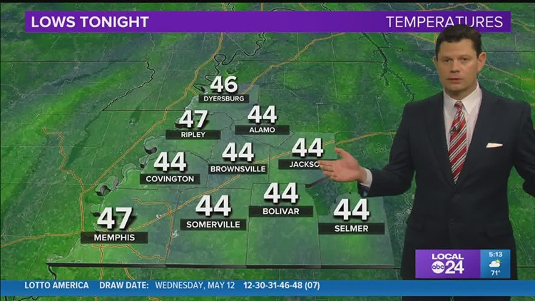 Chief Meteorologist John Bryant says one more perfect day and then some changes