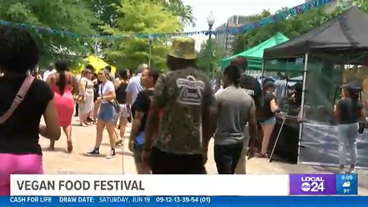 Memphis Vegan Festival draws crowd at Fourth Bluff Park