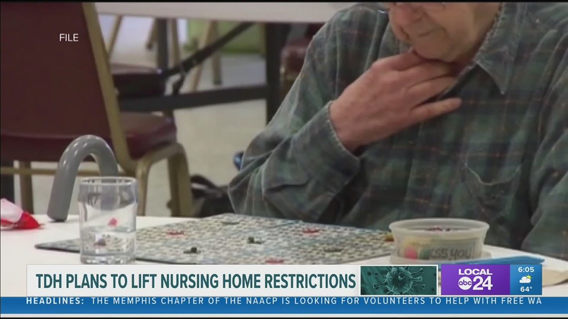 Tennessee removes state visitation restrictions for long-term care facilities