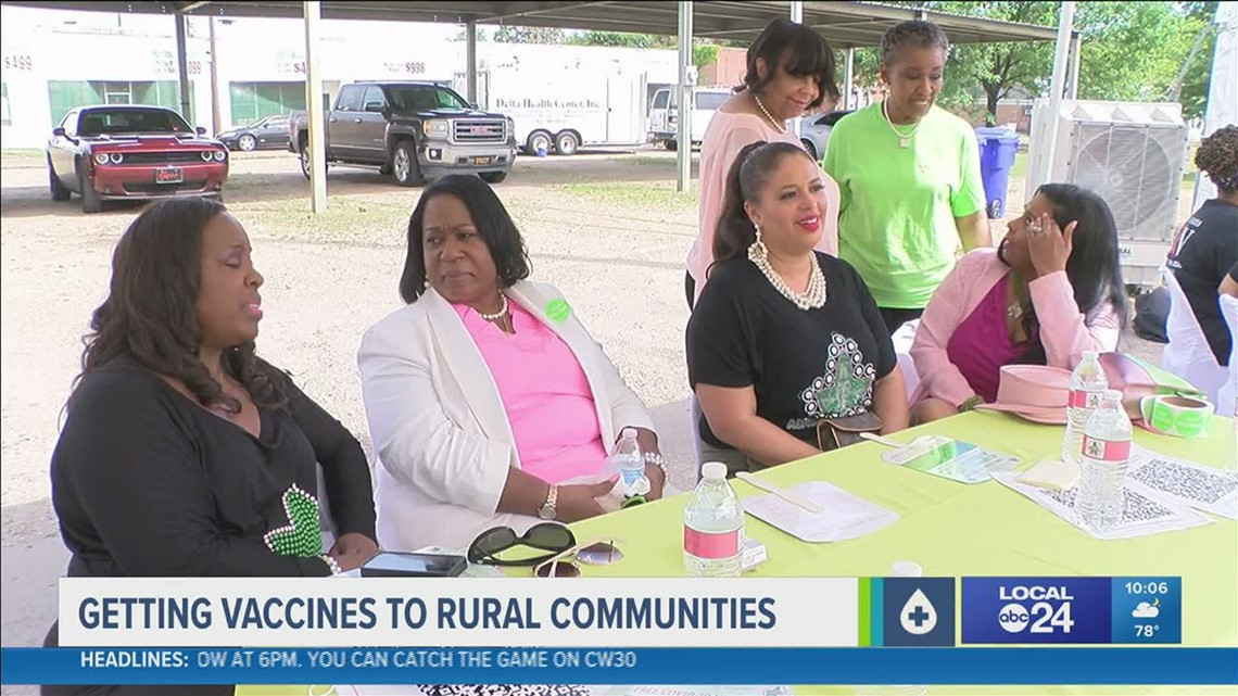 Organizations Step Up to Get Shots in Arms in Mississippi Delta