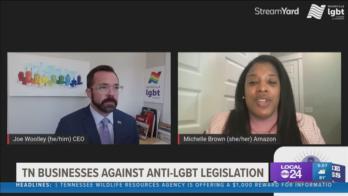 Tennessee businesses complain about the effect of anti LGBTQ+ legislation in the state