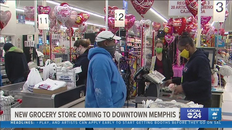 Residents of downtown Memphis are relieved long-awaited grocery store is opening soon