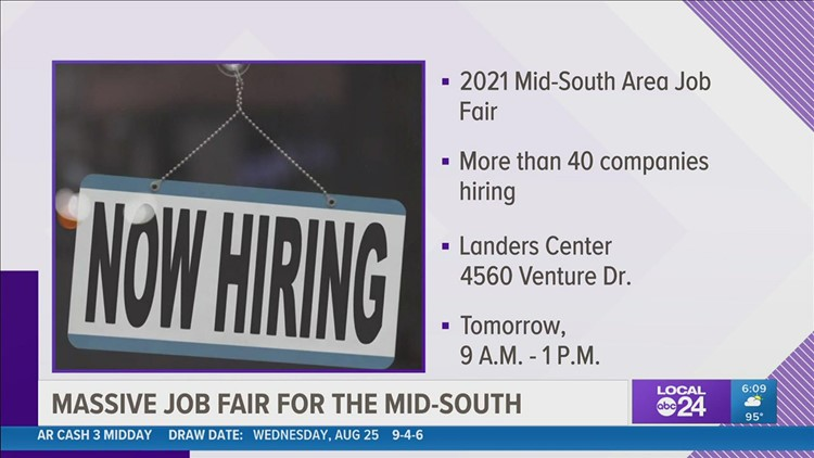 Looking for work? Check out this job fair with tons of companies